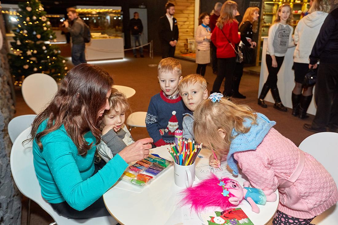 Детская творческая студия в музее миниатюр Страна мини