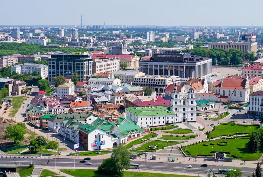 Топ-10 достопримечательностей Минска: Верхний город